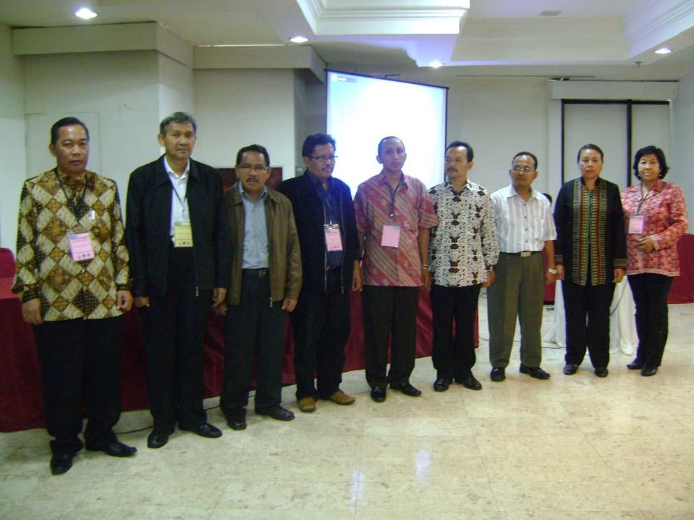 Pengurus Besar ABKIN Periode 2009-2013